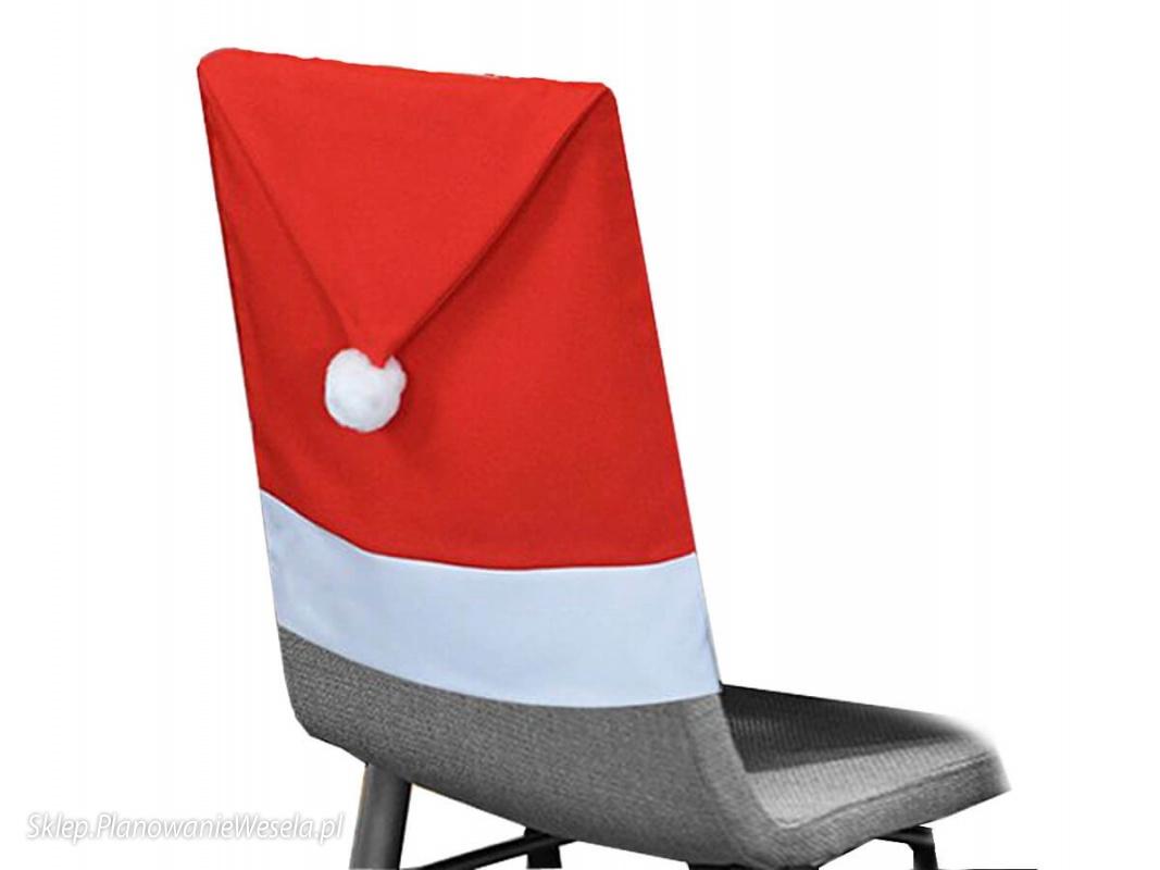 Pokrowiec Na Krzesło Czapka Mikołaja