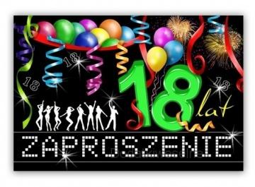 Zaproszenia Urodzinowe 1 Rok 18 Stka 30 40 50 60 Lat Sklep